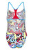 arena Cores One Piece Swimsuit Women Booster Back red/turquoise/multi
